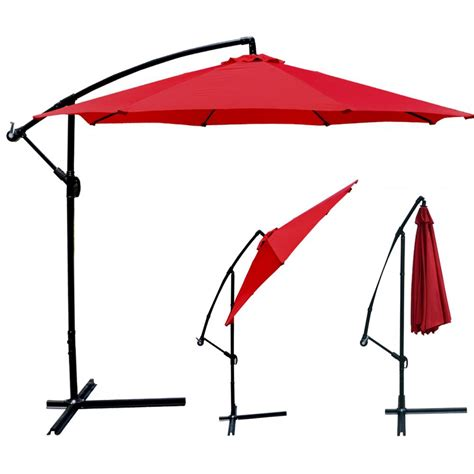 patio offset umbrella new 10 patio umbrella offset hanging umbrella outdoor