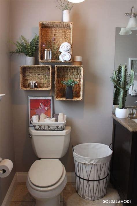 Bathroom Basket Ideas bathroom shelves with a twist sponsored pin homegoods