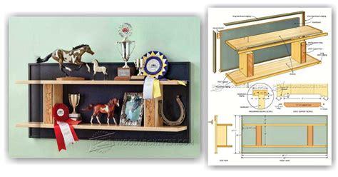 trophy woodworking plans trophy shelf plans woodarchivist