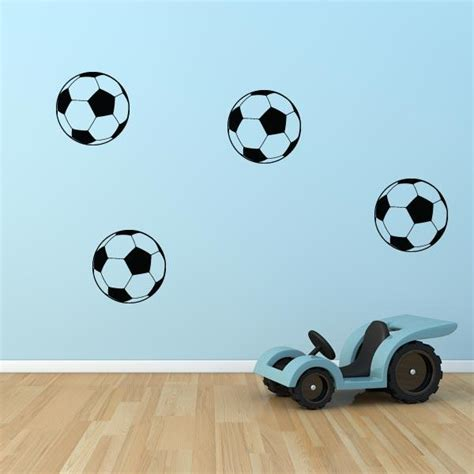 soccer wall stickers soccer decals set of 8 wall decal world