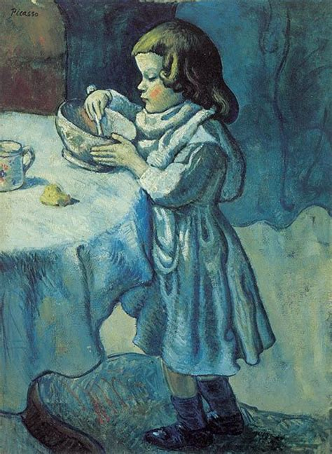 picasso paintings period le gourmet 1901 by picasso washington pablo picasso