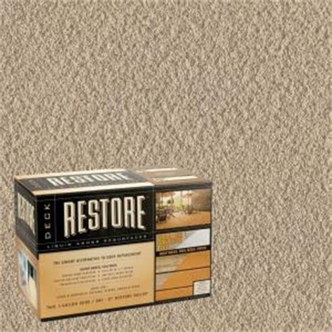home depot restore paint colors restore deck liquid armor resurfacer 2 gal kit water