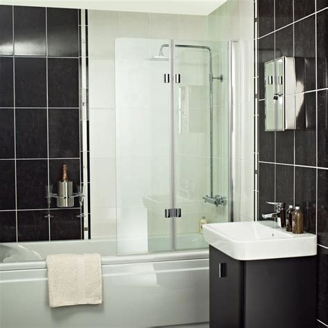bath folding shower screens embrace shower enclosure range showers