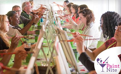 paint nite calgary coupon code 25 for a ticket to paint nite a 45 value wagjag