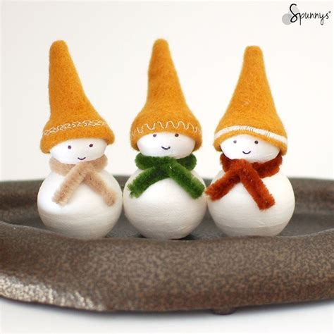 handmade snowman ornaments snowman ornaments to make these guys i