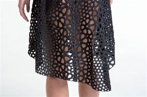 Smart Art 3d Printed Sculptures kinematics dress made with 3d printing subtraction com