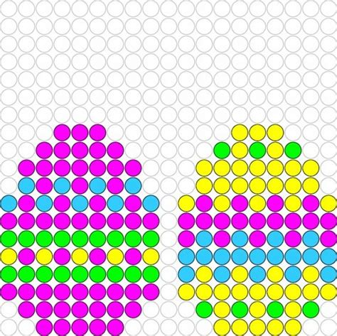easter hama bead patterns easter eggs perler bead pattern mest p 229 sketing ogs 229