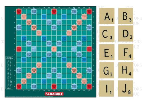 scrabble company scrabble board edible iced icing cake topper 7 5 quot 10