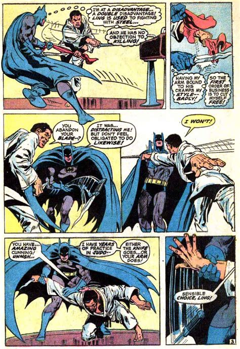 batman comic book pictures batman 243 neal cover pencil ink