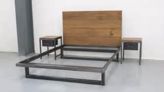 bed bed the blacksmith bed steel vintage industrial furniture