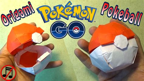 origami pokeball origami pokeball that opens no