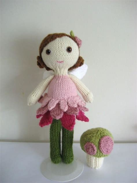 knitted doll patterns knit doll and pattern set