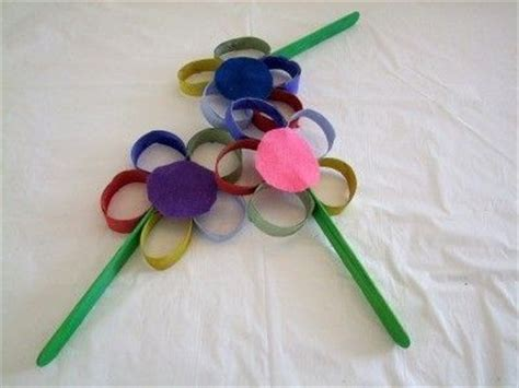 toilet paper roll flowers craft easy crafts for preschoolers memes