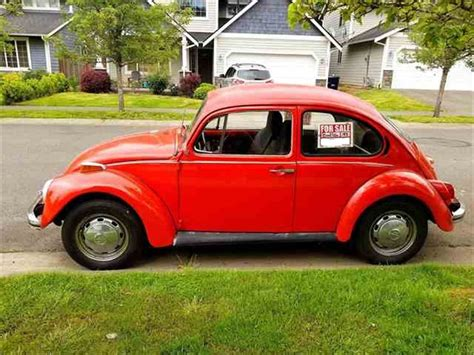 Volkswagen Classic Beetle For Sale by 1972 Volkswagen Beetle For Sale Classiccars Cc 988461