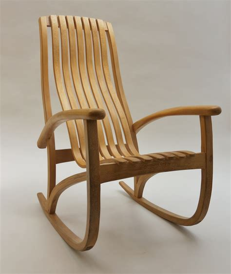 bespoke lace wood rocking chair decorative modern