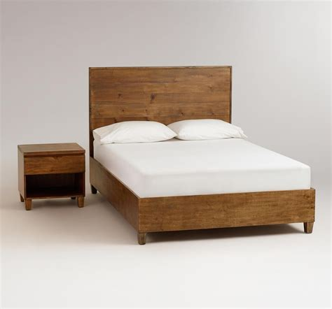 simple bed frame design home priority homey feeling of rustic bed frames ideas