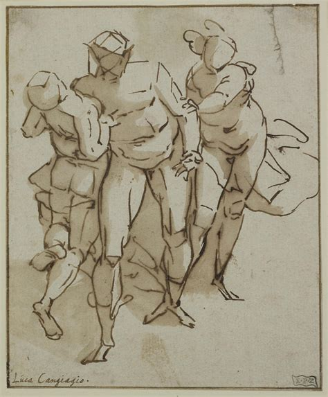 drawings of circle of luca cambiaso a from the of the