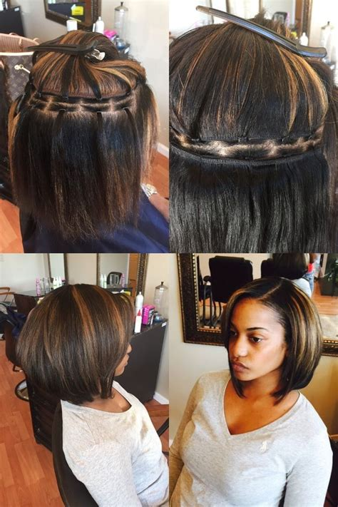 what hair is used for braidless sew in 25 best ideas about sew ins on pinterest sew in weave