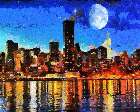 best paint nite nyc nyc skyline at by anthony caruso