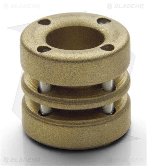 Spalinger Gear Brass Tritium Lanyard Bead Blade Hq