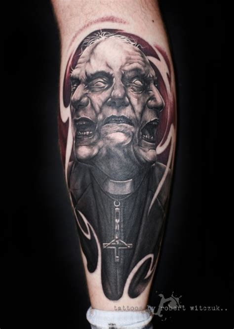 evil priest robert witczuk tattoos