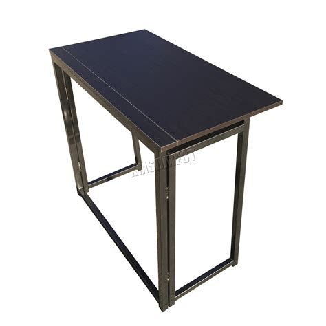 foldable office desk foxhunter foldable computer desk folding laptop pc table