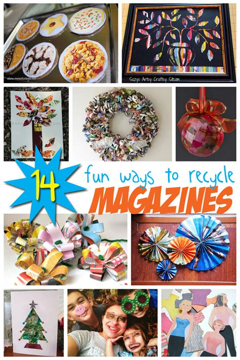 craft magazine 14 crafts from magazines recycling projects