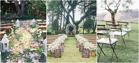 rustic outdoor decorations 25 rustic outdoor wedding ceremony decorations ideas