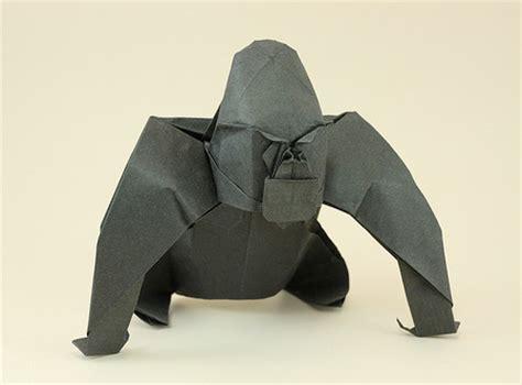 origami gorilla origami animals