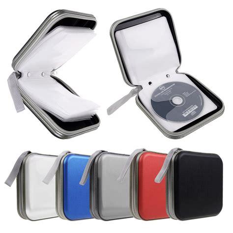 portable plastic cd dvd storage bag classeur rangement boite pochette etui range 40 cd dvd