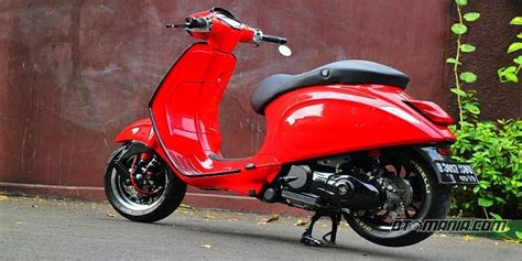 Modifikasi Jok Vespa Primavera by Vespa Sprint Quot Racing Look Anti Mainstream Quot Pameran