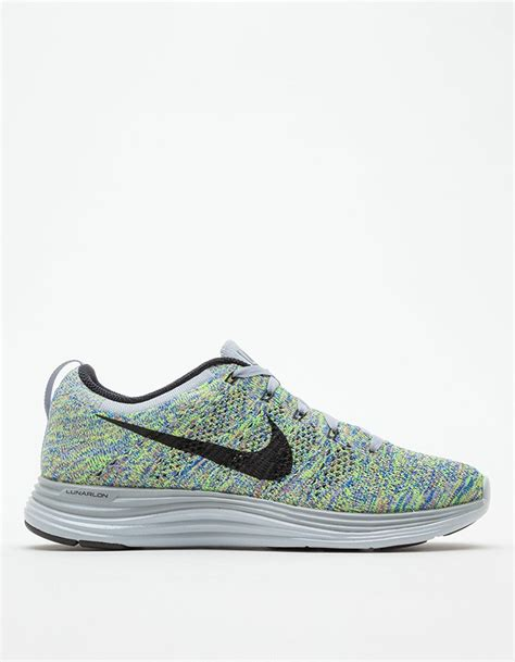 knit nikes nike fly knit lunar1 in gray lyst