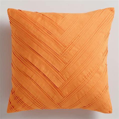 orange cusions orange pillows decor by color