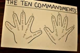 ten commandments crafts for ten commandment crafts search sunday school