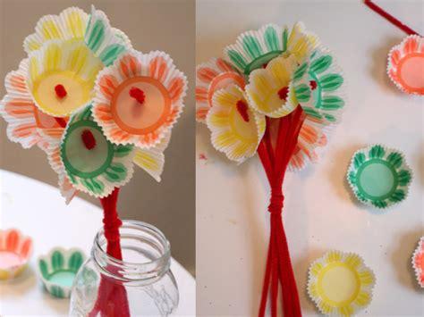 paper flower craft for preschoolers preschool crafts for s day paper cupcake