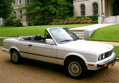 1989 Bmw Convertible by 1989 Bmw 325 Convertible Quot One Owner Quot Quot Only 58k Quot Near Mint