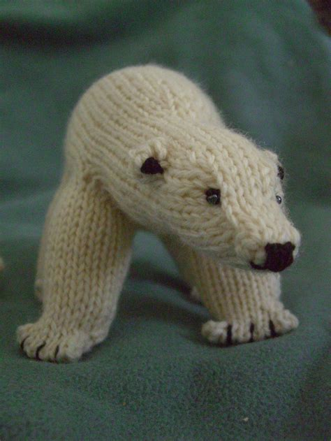 knitted polar peabey the polar pattern by snowden becker