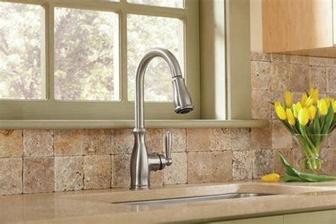 reviews of kitchen faucets moen 7185csl brantford review high arc pulldown kitchen