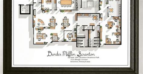 dunder mifflin floor plan the office us tv show office floor plan dunder mifflin