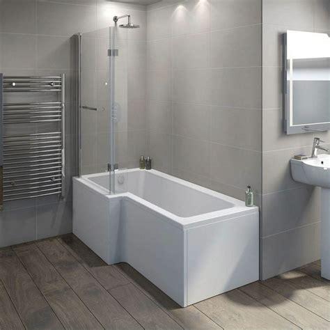 space saving shower baths best 25 l shaped bath ideas on p shaped bath
