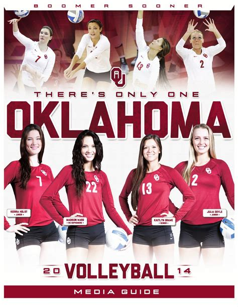 Home Plans Oklahoma 2014 oklahoma volleyball media guide by ou athletics issuu