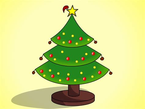 www christmastrees how to draw trees with pictures wikihow