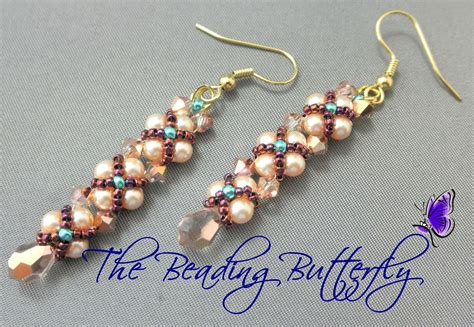 free beaded earring patterns the beading butterfly networkedblogs by ninua