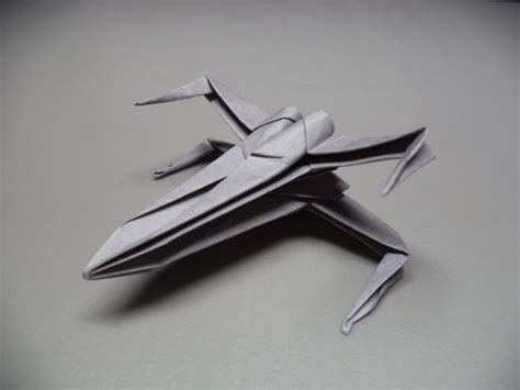 origami wars x wing how to fold an origami wars x wing starfighter