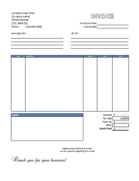 excel invoice templates free download spreadsheetshoppe