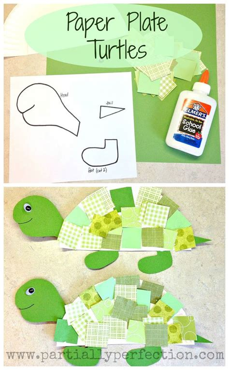 paper plate turtle craft template paper plate turtles template included www