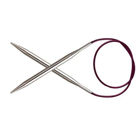 circular knitting needles knitpro metal fixed circular knitting needles 120cm