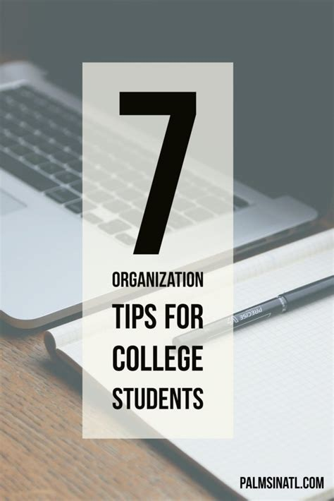 organization tips for college students 7 organization tips for college students the palmetto