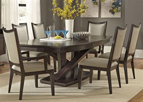 7 pc dining room set homelegance archstone 7 counter height dining room
