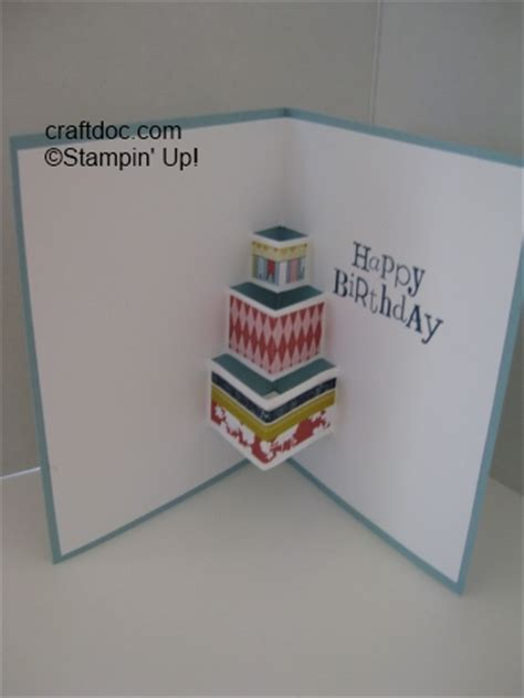 how to make pop up cake card pin tags pop up cake card stin on